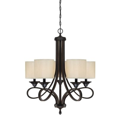 Lenola 5-Light Drum Chandelier