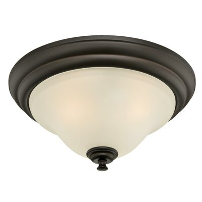 Dunmore 2-Light Flush Mount