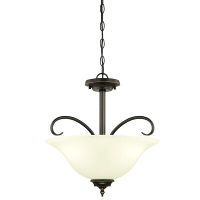 Harwell 3-Light Mini Pendant Finish: Amber Bronze