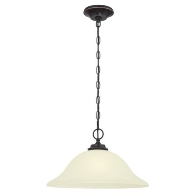 Harwell 1-Light Minil Pendant Finish: Amber Bronze