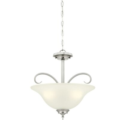 Harwell 3-Light Mini Pendant Finish: Brushed Nickel
