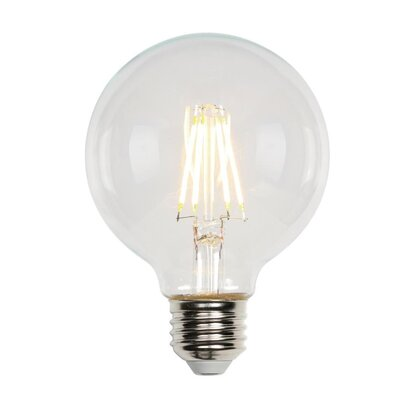 Medium Base G25 LED Light Bulb Wattage: 40