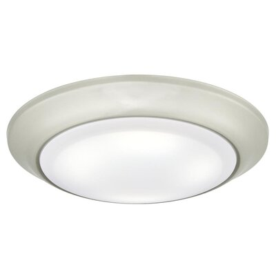 1-Light LED Flush Mount Finish: Brushed Nickel