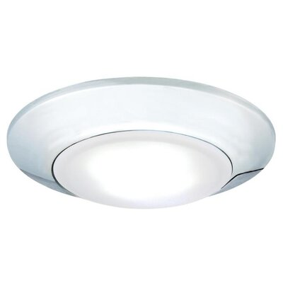 1-Light LED Flush Mount Finish: Chrome