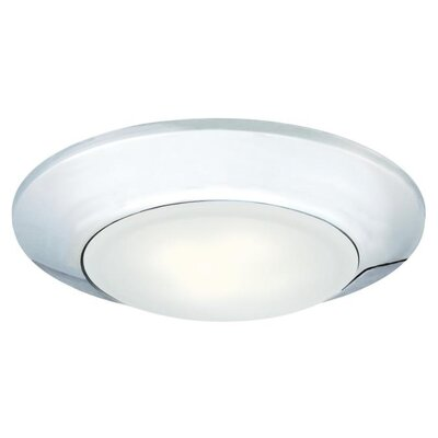 Indoor/Outdoor LED Recessed Trim Finish: Chrome