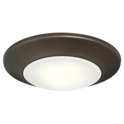 Indoor/Outdoor LED Recessed Trim Finish: Oil Rubbed Bronze