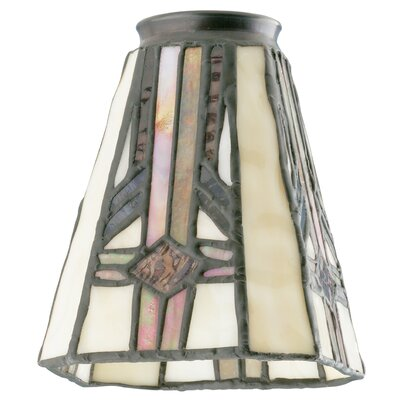 4.75 Glass Empire Wall Sconce Shade (Set of 2)