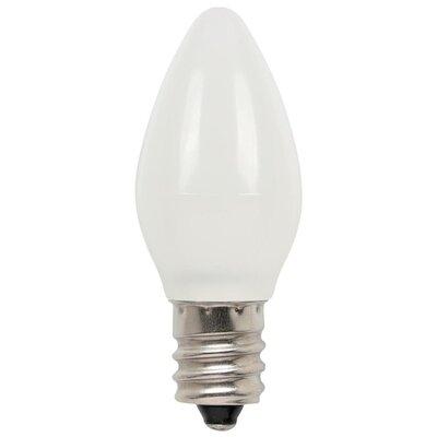 1W E12/Candelabra LED Light Bulb (Set of 2)