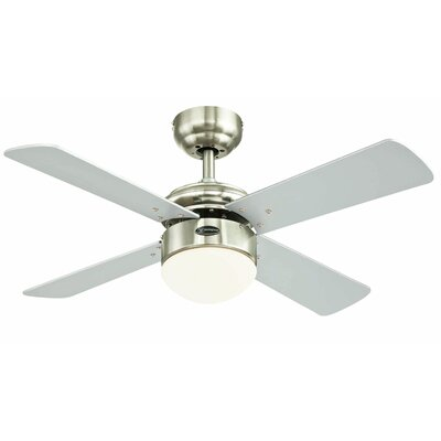 """36"""" Colosseum Reversible LED 4 Blade Ceiling Fan with Remote Control 7241714"""