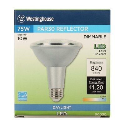 10W E26 Medium Base LED Light Bulb Bulb Temperature: 5000K