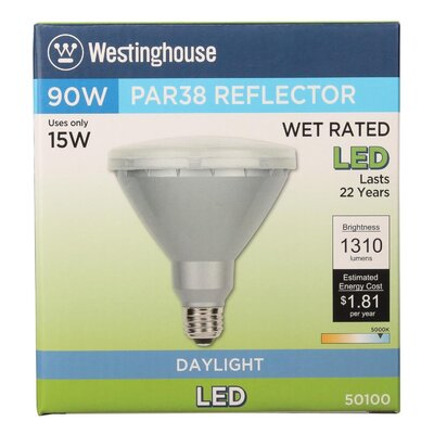 15W E26 Medium Base LED Light Bulb Bulb Temperature: 5000K