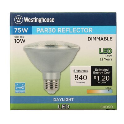 10W E26 Medium Base LED Light Bulb Bulb Temperature: 5000K