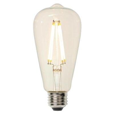 E26 Medium Base LED Vintage Filament Light Bulb Wattage: 60