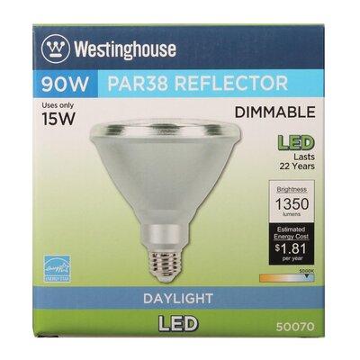 15W E26 Medium Base LED Light Bulb Bulb Temperature: 5000K