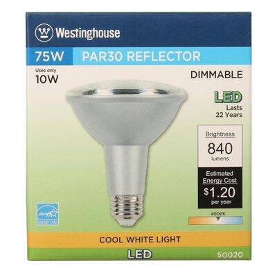 10W E26 Medium Base LED Light Bulb Bulb Temperature: 4000K