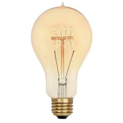 40W Amber A23 Light Bulb