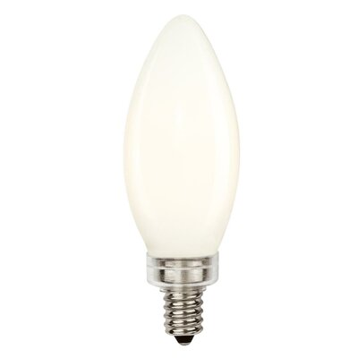 B11 LED Light Bulb (Set of 6) Wattage: 60W