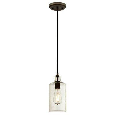 Pennsauken 1-Light Inverted Pendant Finish: Oil Rubbed Bronze