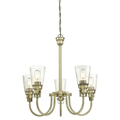 Mullikin Indoor 5-Light Chandelier