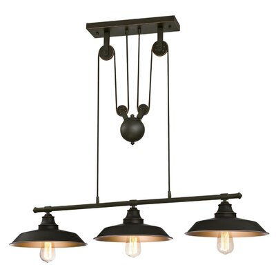 Alayna 3-Light Kitchen Island Pendant