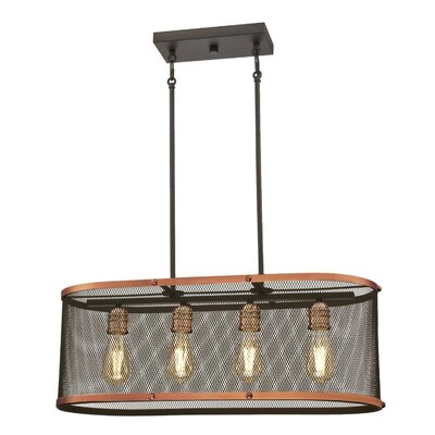 Agastya Indoor 4-Light Kitchen Island Pendant