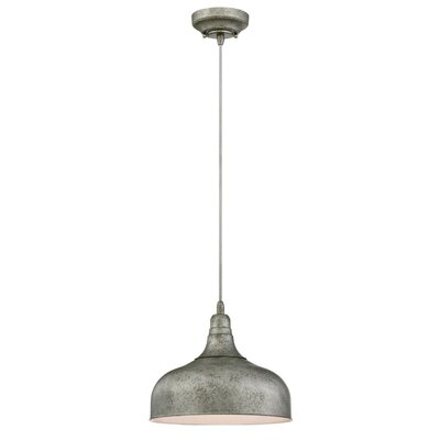 Burwan 1-Light Inverted Pendant
