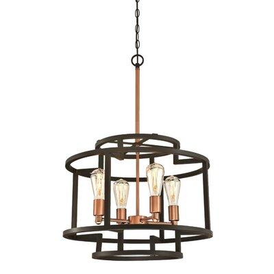 Samarth Indoor 4-Light Chandelier