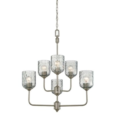 Manalapan Indoor 6-Light Candle-Style Chandelier