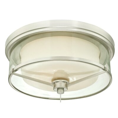 Johns 2-Light Flush Mount