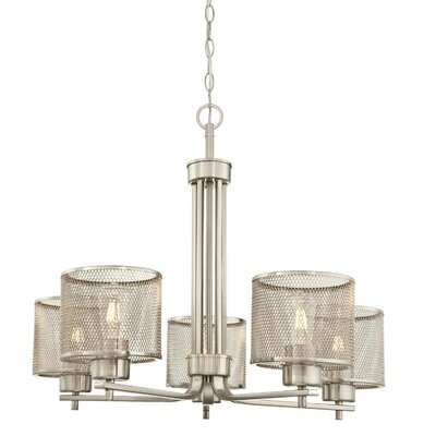 Theodora� Indoor 5-Light Drum Chandelier