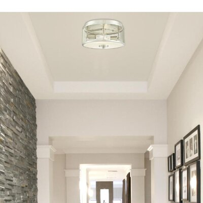 Theodora� 2-Light Flush Mount