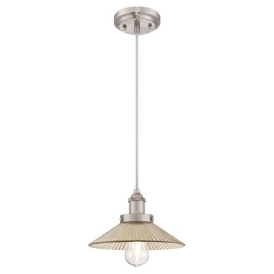 Lisbeth 1-Light Mini Pendant Finish: Brushed Nickel