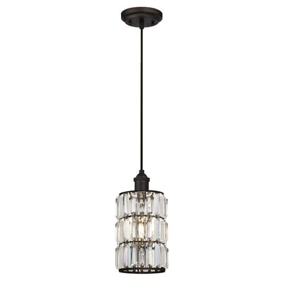 Baxley 1-Light Mini Pendant Finish: Oil Rubbed Bronze