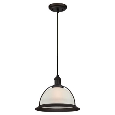 Delway 1-Light LED Inverted Pendant