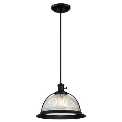 Delway 1-Light 60W Inverted Pendant