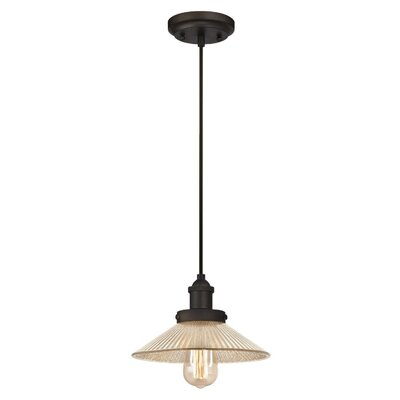 Lisbeth 1-Light Mini Pendant Finish: Oil Rubbed Bronze