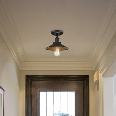 Morganton 1-Light Semi Flush Mount