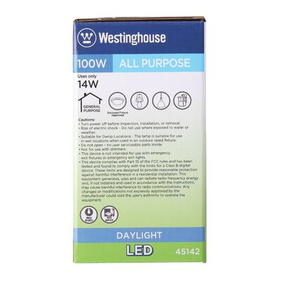 14W E26/Medium (Standard) LED Light Bulb