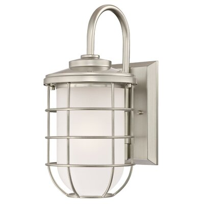 Woolverton 1-Light Outdoor Wall Lantern