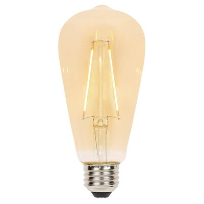 25W Amber E26/Medium (Standard) LED Light Bulb