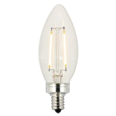 25W E12/Candelabra LED Light Bulb