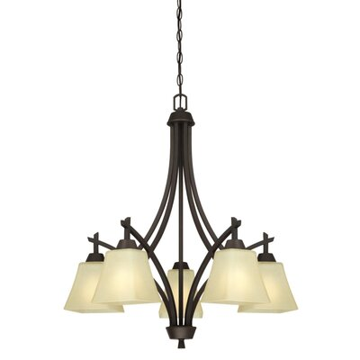 Midori 5-Light Shaded Chandelier