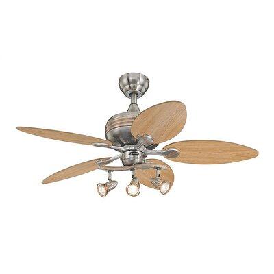 44 Xavier 5-Blade Ceiling Fan with 4 Downrod