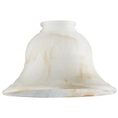 Swirl 6.88 Glass Bell Pendant Shade (Set of 6)