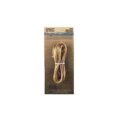 Light Fixture Cord Set Finish: Gold