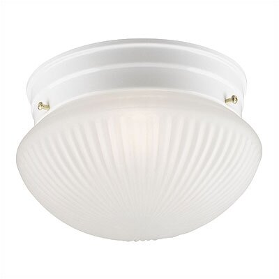 Flush Mount in White (Set of 2) 6467100