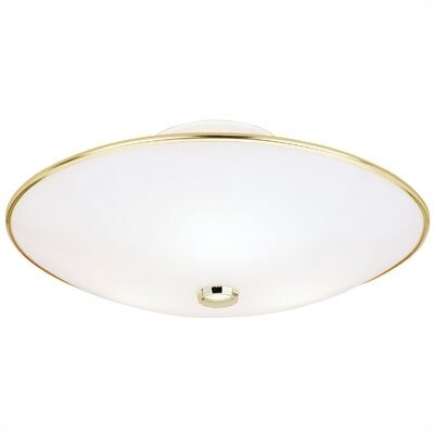 7 3 Light Flush Mount (Set of 2)