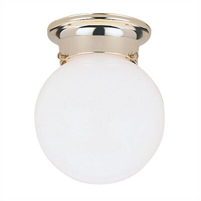 Flush Mount in Polished Brass (Set of 4)
