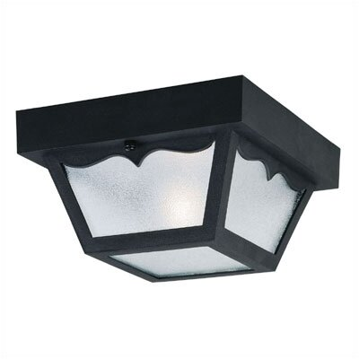 Exterior 1-Light Flush Mount (Set of 3)