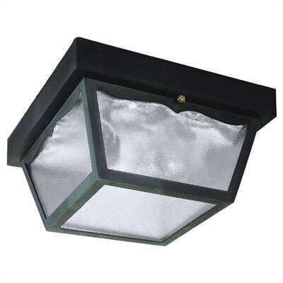 Exterior 2-Light Flush Mount (Set of 2)